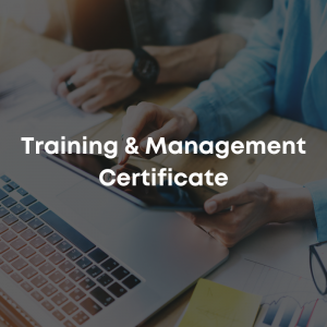 Training & Management Certificate (4 Weeks)